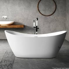 Get inspired by Modern Bathroom Design photo by Wayfair. Wayfair lets you find the designer products in the photo and get ideas from thousands of other Modern Bathroom Design photos. Bathroom Layout, Modern Bathroom Design, Bathroom Interior Design, Bathroom Ideas, Modern Bathrooms, Small Bathrooms, Bath Ideas, Bathroom Organization, Bathroom Renovations
