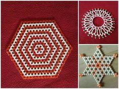 Moti Flowers rangoli and mahirap for daily purpose Pearl Crafts, Beaded Crafts, Tatting Jewelry, Bead Jewellery, Beaded Clutch, Beaded Necklace, Crochet Bedspread Pattern, Diy Diwali Decorations, New Rangoli Designs