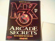 Mortal Kombat 3 strategy Guide Arcade Secrets