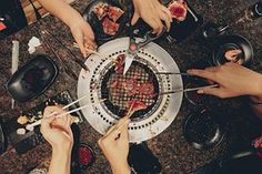 Friends, Eating, Eat, Family, Grill