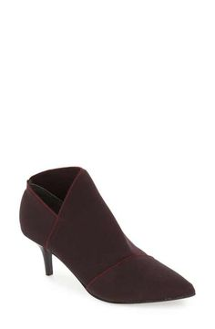 Adrianna Papell 'Hermes' Pointy Toe Bootie (Women)