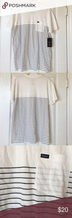 Men's RVCA T-shirt Men's RVCA T-shirt. Black and white. RVCA Shirts Tees - Short Sleeve
