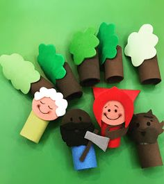 Rhyming Activities, Infant Activities, Kids Crafts, Arts And Crafts, Fairy Tale Crafts, Story Sack, Traditional Tales, Cardboard Crafts, Baby Shark