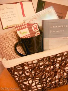 Book Lovers Basket