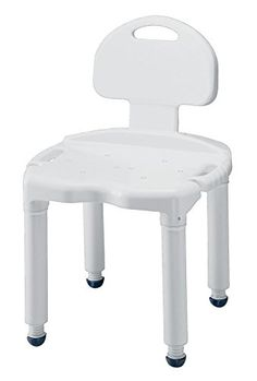 HeavyDuty Carex Bath and Shower Seat with Back *** Offer can be found by clicking the VISIT button