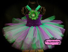 Garden Fairy Tutu Dress by formyprincesstutus on Etsy, $30.00