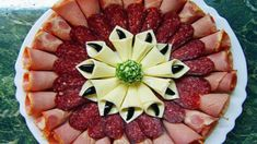 Ideas meat platter presentation cold cuts for 2020 Meat And Cheese Tray, Meat Trays, Meat Platter, Food Trays, Deli Tray, Charcuterie Platter, Cheese Platters, Party Food Platters, Food Carving