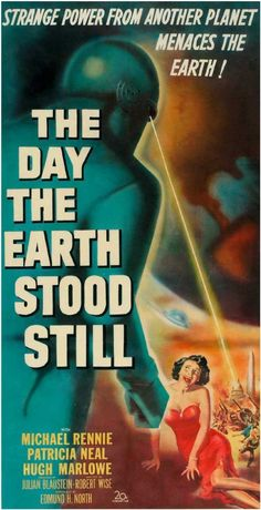 """1951 marked the year that two of the best sci-fi movies ever were made. The first one, """"The Day the Earth Stood Still"""" was a warning to us that we should search for peaceful coexistence with our neighbors. Made just six years after World War II ended and the Cold War was beginning, it warned what could happen to us if we continued with our warlike behavior."""