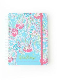 Lilly Pulitzer Large Agenda in Jellies Be Jammin- this is the one I want