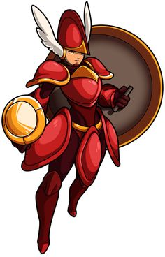 Shield Knight from the video game Shovel Knight by Yacht Club Games