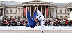 Judo at International Paralympic Day, Trafalgar Square