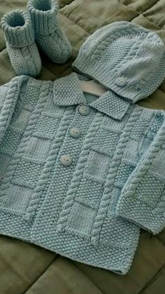 67 Ideas Knitting Patterns Baby Cardigan Sweater Coats For 2019 Baby Boy Knitting Patterns, Baby Sweater Patterns, Baby Cardigan Knitting Pattern, Baby Patterns, Free Knitting, Crochet Patterns, Pretty Patterns, Crochet Cardigan, Crochet Baby Sweaters