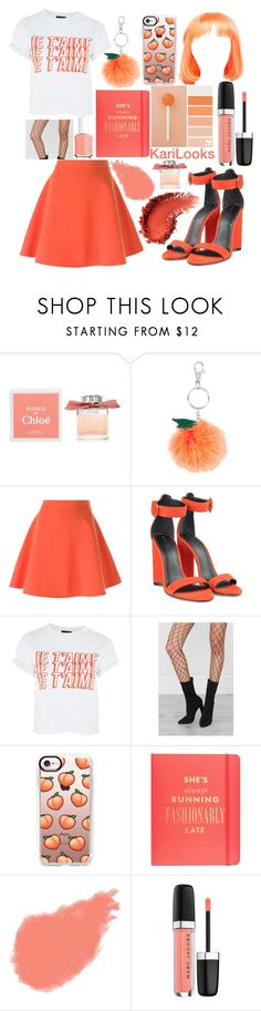 """""""Je T'aime"""" by karilooks ❤ liked on Polyvore featuring Chloé, Accessorize, MSGM, Kendall + Kylie, Topshop, Casetify, Kate Spade, Bobbi Brown Cosmetics and Marc Jacobs"""
