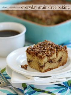 Cinnamon Crumb Coffee Cake (Grain-Free, Dairy-Free Option) - Intoxicated On Life