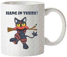 awesome       £16.99  Personalized Custom Pattern.Made Of CeramicsOnly One SizeFit For High/cold Temperature DrinkPersonalized Custom MugsDelivery T...  Check more at http://fisheyepix.co.uk/shop/hang-in-there-pokemon-starers-sun-and-moon-litten-travel-mug-tea-cup/
