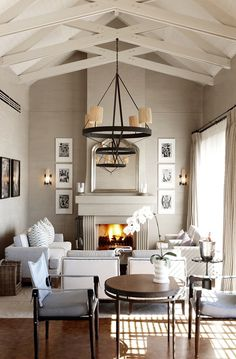 "Check Out 17 Narrow Living Room Ideas To Get Inspired. Do you have a narrow living room in your house and you are like ""Ugh, how am I supposed to put everything in here? Narrow Living Room, Home Living Room, Living Area, Living Spaces, Small Living, Cozy Living, Sweet Home, Style At Home, Home Design"