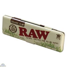 Papers Tips 70mm Single Wide Raw Classic Natural Unrefined Rolling Papers Gift Set Bundle: Mini Tray and Dank Paper Scoop Card