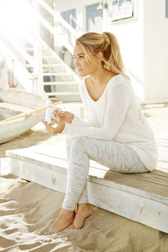 All white is so right now. LC Lauren Conrad at #Kohls