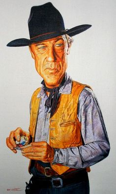 Gary Cooper (Caricature) Dunway Enterprises: http://dunway.com - http://masterpaintingnow.com/how-to-draw-everything?hop=dunway