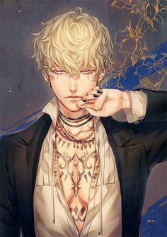 Digital Art Anime, Anime Art, Cool Anime Guys, Vampire Art, Anime Films, Character Design Inspiration, Beautiful Artwork, Kawaii, Fan Art