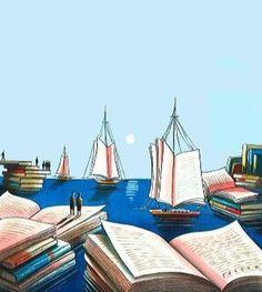 Quando il Lettore Forte legge romanzi d'avventura e di mare vorrebbe nella stanza un diffusore d'aria iodata.