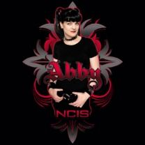 #ncis #popfunk #abby  This design is available as a Tshirt here: $21.00 http://www.popfunk.com/mens-tees/cbs-primetime/ncis/ncis-abby-gothic.html