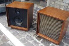 Bozak 302a speakers - lo tuve y lo echo muchísimo de menos. Su sonido era increíble