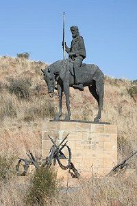 "The monument at the site were the ""Vrede van Vereeniging"" peace accord was signed symbolic of the many Boers that did not accept the surrender War Memorials, African States, My Land, Zulu, African History, Military History, Statues, South Africa, Museum"