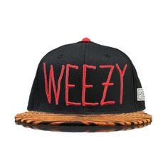 Cayler And Sons C AndS Weezy Animal Print Snapback Tiger Print Snapback Cap in Black 6692! Only $8.90USD