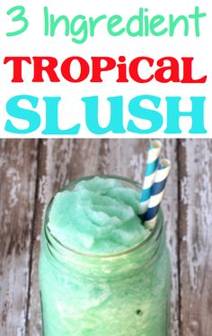 Slushie Recipe For Kids Frozen Drinks! Slushy non alcoholic drinks for parties are so refreshing! 4th Of July Desserts, Spring Desserts, Fun Desserts, Easy Summer Meals, Summer Recipes, Slush Recipes, Drink Recipes, Summer Drinks, Refreshing Drinks