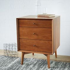 Mid-Century Side Tables - Acorn #westelm