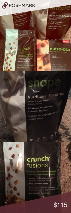 ViSalus Weight Loss Shakes & Snacks! Start the new year off right with ViSalus! Brand new ViSalus nutritional shakes, chocolate macadamia granola, and chocolate caramel bars! I bought too much this month, so selling my extra snacks & shakes. Shakes- 48 servings; Granola- 6 servings; and 6 Bars. $145 worth of products if you buy from ViSalus! ViSalus Other