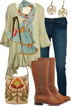 Float The Boat Outfit includes Naudic, True Religion, and Tiger Tree at Birdsnest Online Indie Fashion, Cute Fashion, Colorful Fashion, Work Fashion, Fashion Outfits, Boating Outfit, Everyday Casual Outfits, Comfortable Outfits, Boho Look