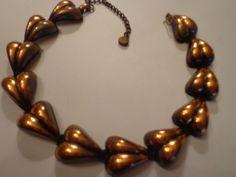 VINTAGE REBAJE COPPER NECKLACE in Jewelry & Watches, Vintage & Antique Jewelry, Costume | eBay