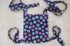Simple baby doll carrier tutorial. Two knots required when wearing.