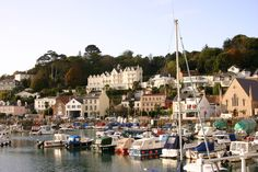 #StAubin town and harbour, Jersey, Channel Islands. Why don't I live on this island?