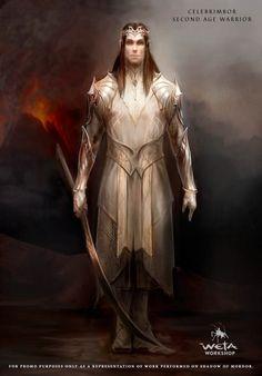 Celebrimbor - Weta concept art from Shadow of Mordor.