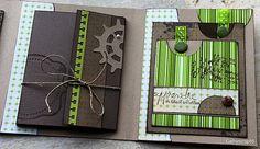 Superbe album vert & chocolat