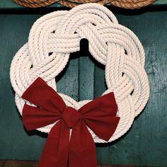 Sailor Knot Christmas Wreath.... https://mysticknotwork.com/collections/christmas