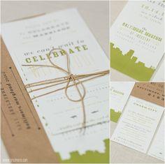 mlc designs wedding invitations - Baltimore Museum of Industry Wedding  •  tPoz Photography  •  www.tpozphoto.com