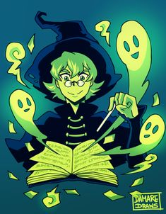 Ghost Stories- Pidge as a Halloween Witch of Haunted Stories from Voltron Legendary Defender