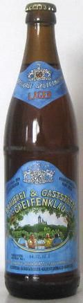 Greifenklau Lager Bier