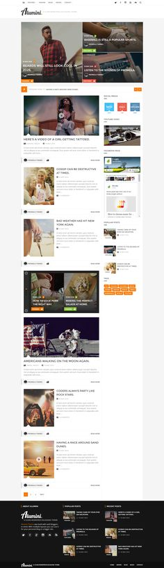 Top Wordpress Themes, Color Picker, Google Fonts, Responsive Layout, Blog Layout, Page Template, Blogging, Magazine
