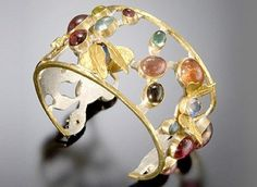 Keri Ataumbi - Insects with Tourmaline Cuff