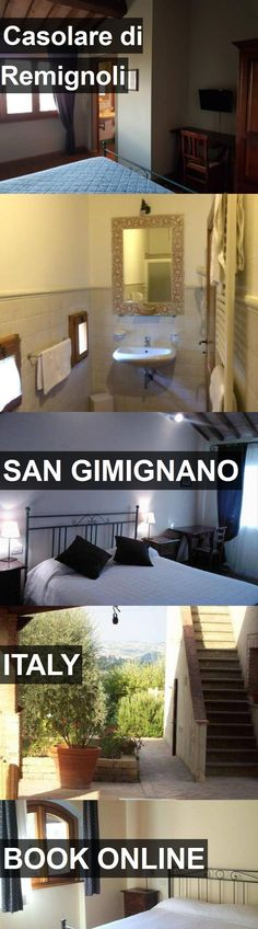 Hotel Casolare di Remignoli in San Gimignano, Italy. For more information, photos, reviews and best prices please follow the link. #Italy #SanGimignano #travel #vacation #hotel
