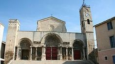 Abatiale St Gilles 30 gard