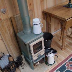 Hobbit stove for garden rooms. Approx £500.