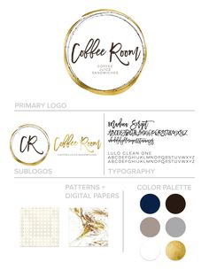 Autumn Lane Paperie - Business Branding - Brand Identity Idea - Brand Board - Brandboard - Graphic Design - Shabby Chic Rustic Design - Branding Package - Branding Ideas - Logo Ideas - Logo Design - Graphic Design - Creative Professional - Restaurant Logo - Coffee Shop Logo