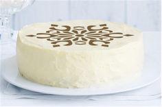 Crystal Snowflake Cake