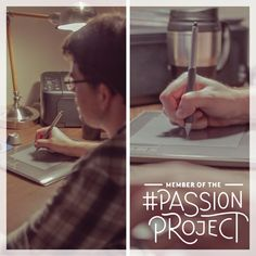 Tyler brings his favorite recipes to life with comics. Click to watch his #PassionProject: